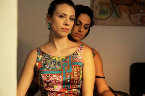 Luciana Bollina e Ana Paula Lima em cena