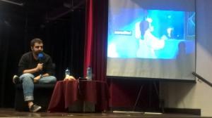 Ronaldo Porto ministrando palestra