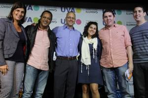 Ana Cristina, Márcio Ferreira, Bruno Voloch, Carolina Castro, Thiago Dias e Jorge Nathãn