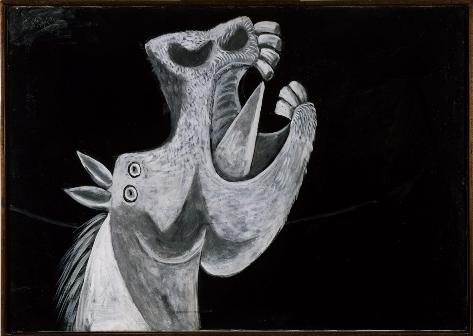 Cabeça de Cavalo (Foto: Coleção do Museu Nacional Centro de Arte Rainha Sofía, Madri/Divulgação)