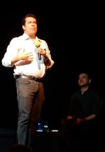 Jornalista André Trigueiro (foto: Luana Fialho)