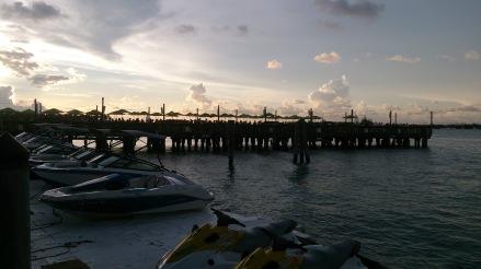 Fim da tarde em Sunset Pier