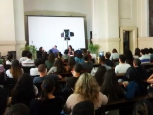 Público durante evento