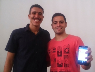Cláudio Marques e Marcos Vaz