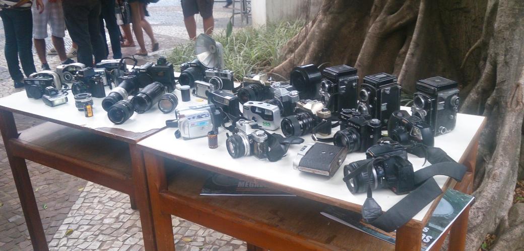 mostra de câmeras