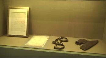Objetos referentes aos escravos