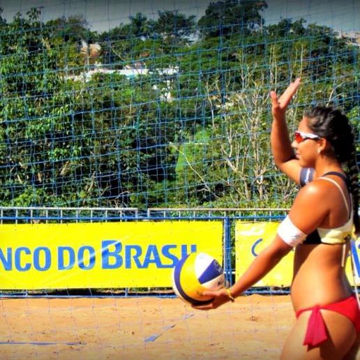 Desde que começou a jogar vôlei, Beatriz Vieira não vê um futuro longe das praias.