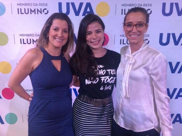 Sabrina Ferreira, Raissa Harrison e Mariana Alcantara