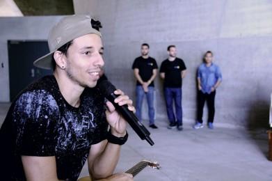 Rafah, cantor da atual edição do The Voice Brasil. [foto: Luiza Bastos/Agência UVA- Downtown].