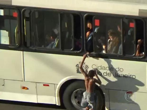 Ação de um menor de idade no Centro do Rio de Janeiro