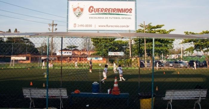 Guerreirinhos, Escolinha de Futebol do Fluminense. Foto: Divulgação.