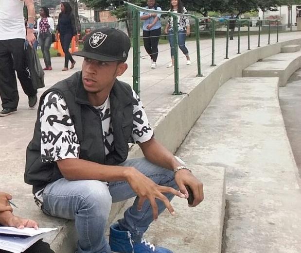 O b-boy e rapper WP participa de eventos com temática periférica desde 2012. Foto: Jefferson Alves e Bruno Black