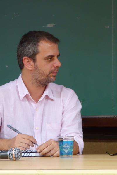 Para Paulo Patrocínio, a subjetividade pode ser construída pela leitura das obras. Foto: Arquivo Pessoal
