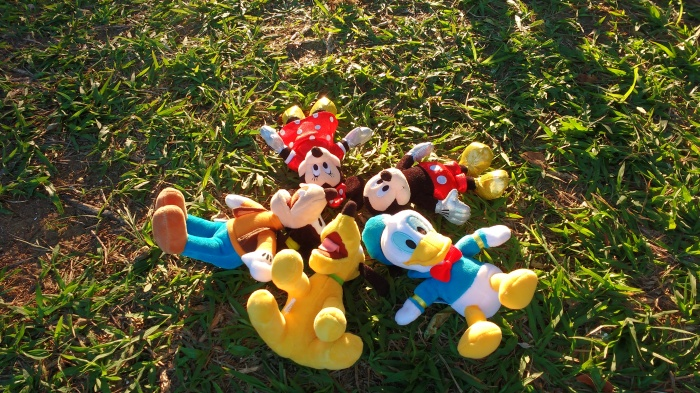 Bonecos da Disney.Foto: Yasmin Thomaz