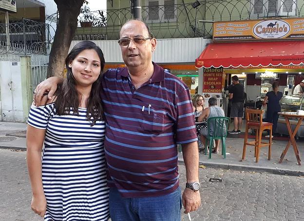 """تاج الدين / Taj Din:""""Refugiados são empreendedores natos, eles não gostam de trabalhar como empregados."""""""