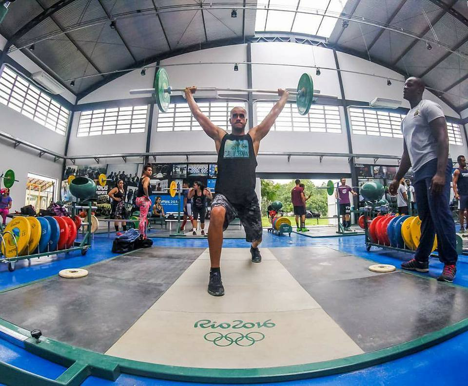 treinamento de LPO Treinamento de levantamento de peso Foto Karine Barcellos