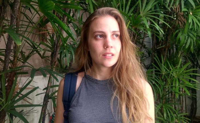 Alice Salz, estudante de direito. Foto: Letícia Montilla / AgênciaUVA