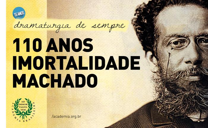 Material de divulgação do Ciclo de Leituras Dramatizadas da ABL. Foto: Divulgação