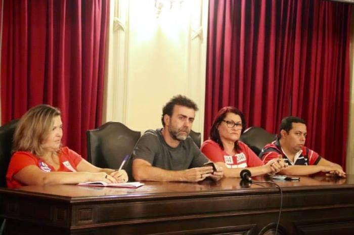 Para o deputado Marcelo Freixo, nova comissão é fundamental para o Rio. Foto: Reprodução da rede social