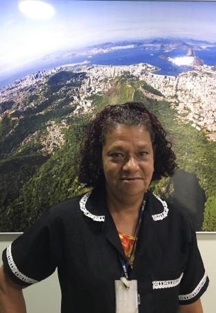 Ângela Maria é uma empreendedora. Foto: Nathália Gonçalves / AgênciaUVA