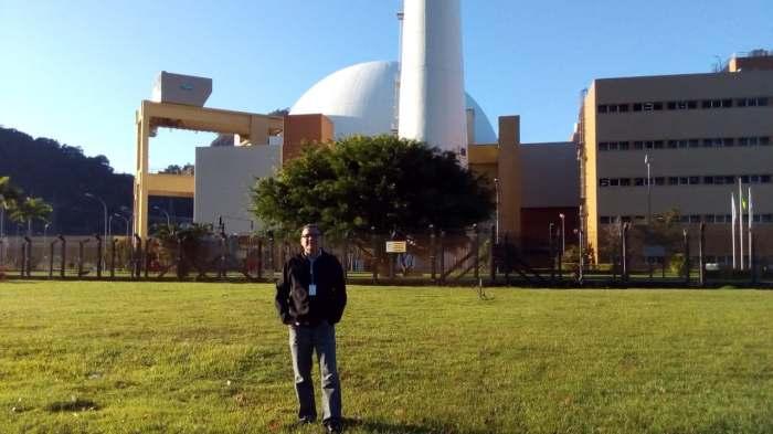 O operador de reator nuclear de Angra 2 Roberto do Nascimento. Foto: Acervo pessoal