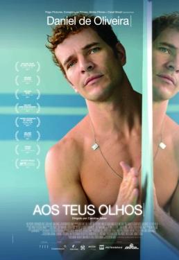 """Cartaz do filme """"Aos teus olhos"""", com Daniel de Oliveira. Foto: Divulgação"""