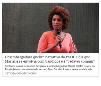 """Print da publicação do site """"Ceticismo Político"""""""