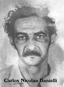 Foto de Carlos Danielli nos registros do DOI-CODI. Foto: Divulgação