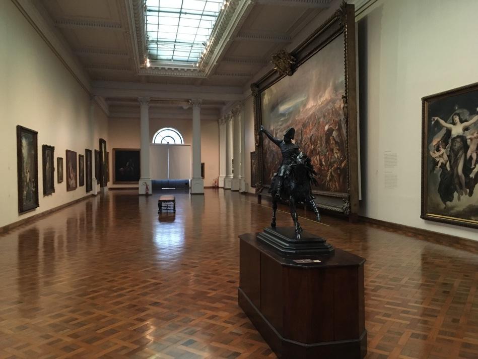 Enquanto a Galeria Moderna não reabre, mais da belíssima Galeria do Século XIX. Foto: Felipe Naus
