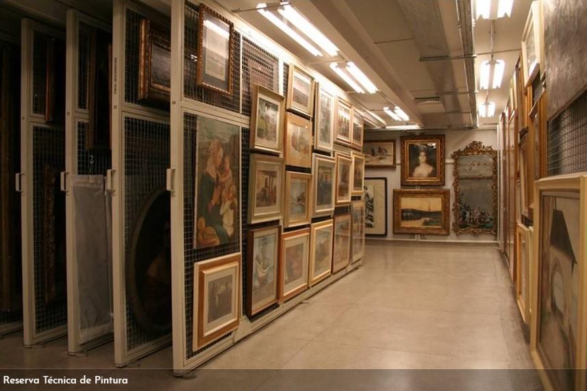Um dos ateliês existentes no museu (Foto - Site oficial do MNBA)