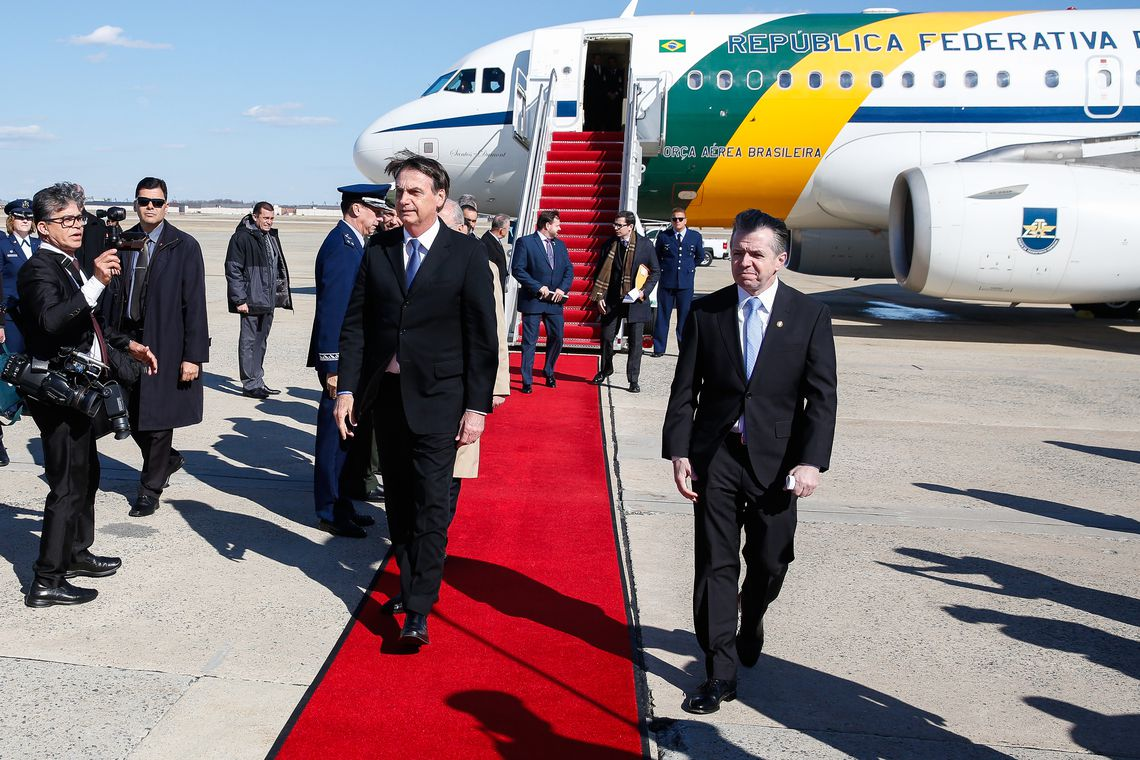 Jair Bolsonaro nos Estados Unidos
